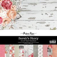 Paper Rose - 12 x 12 Collection Pack - Sarah's Story