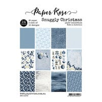 Paper Rose - A5 Paper Pack - Snuggly Christmas