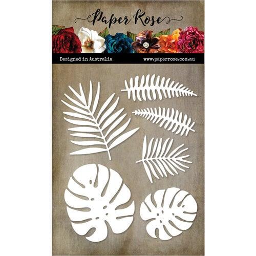 Paper Rose Tropical Leaves die