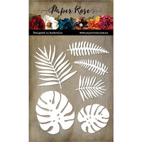Paper Rose - Dies - Tropical Leaves