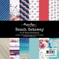 Paper Rose - 6 x 6 Collection Pack - Beach Getaway