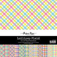 Paper Rose - 12 x 12 Collection Pack - Lollipop Plaid