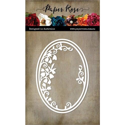 Paper Rose - Dies - Spring Oval Frame