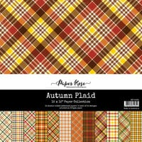 Paper Rose - 12 x 12 Collection Pack - Autumn Plaid