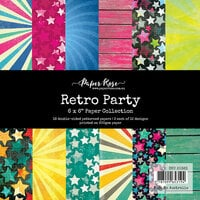 Paper Rose - 6 x 6 Collection Pack - Retro Party