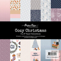 Paper Rose - 6 x 6 Collection Pack - Cozy Christmas