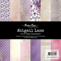 Paper Rose - 6 x 6 Collection Pack - Abigail Lane