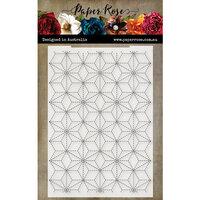 Paper Rose - Embossing Folder - Hand Stitching 1