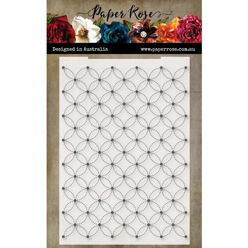 Paper Rose Hand stitch