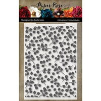Paper Rose - Embossing Folder - Baby Blue Leaf