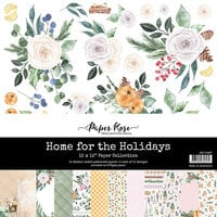 Paper Rose - 12 x 12 Collection Pack - Home for the Holidays