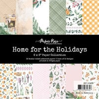 Paper Rose - 6 x 6 Collection Pack - Home for the Holidays