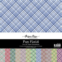 Paper Rose - 12 x 12 Collection Pack - Fun Plaids