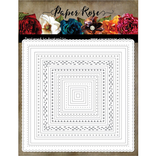 Paper Rose - Dies - Lots and Lots of Squares