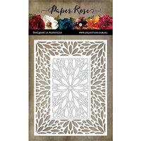 Paper Rose - Dies - Leaf Burst Rectangle Frame