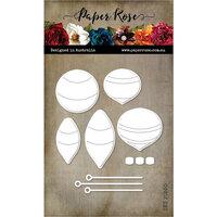 Paper Rose - Dies - Retro Ornaments