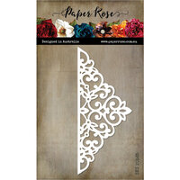 Paper Rose - Dies - Decorative Corner 1