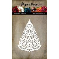 Paper Rose - Dies - Christmas Fir Tree Large
