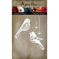 Paper Rose - Christmas - Dies - Bird Ornaments