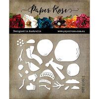 Paper Rose - Christmas - Dies - Snowman Builder