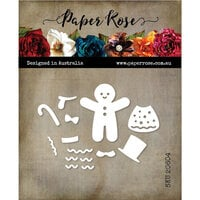 Paper Rose - Christmas - Dies - Gingerbread Person Builder
