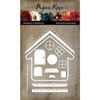 Paper Rose - Christmas - Dies - Gingerbread House Builder