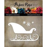 Paper Rose - Christmas - Dies - Sleigh