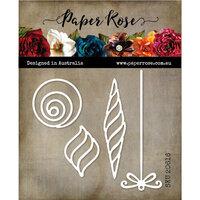 Paper Rose - Christmas - Dies - Modern Ornaments