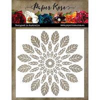 Paper Rose - 6 x 6 Stencil - Leaf Mandala