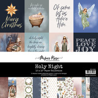Paper Rose - 12 x 12 Collection Pack - Holy Night