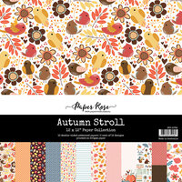Paper Rose - 12 x 12 Collection Pack - Autumn Stroll