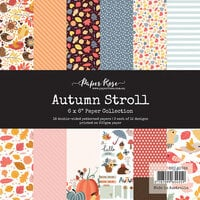 Paper Rose - 6 x 6 Collection Pack - Autumn Stroll