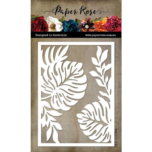 Paper Rose - Dies - Palm Leaf Frame