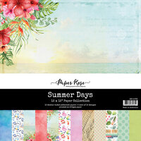 Paper Rose - 12 x 12 Collection Pack - Summer Days