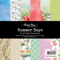 Paper Rose - 6 x 6 Collection Pack - Summer Days