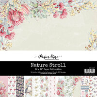 Paper Rose - 12 x 12 Collection Pack - Nature Stroll