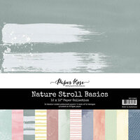 Paper Rose - 12 x 12 Collection Pack - Nature Stroll Basics