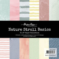 Paper Rose - 6 x 6 Collection Pack - Nature Stroll Basics