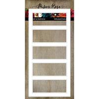 Paper Rose - Dies - Slimline - Card Creator 1 - Rectangles