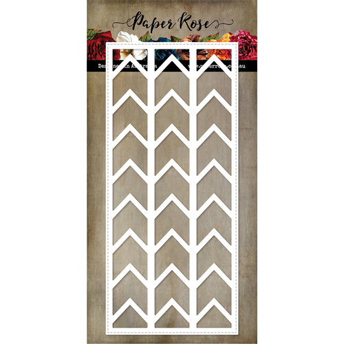 Paper Rose - Dies - Slimline - Card Creator 3 - Chevron