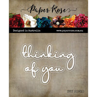 Paper Rose - Dies - Thinking Of You Fine Script