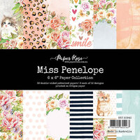Paper Rose - 6 x 6 Collection Pack - Miss Penelope