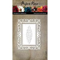 Paper Rose - Dies - Filigree Rectangle Frame Set