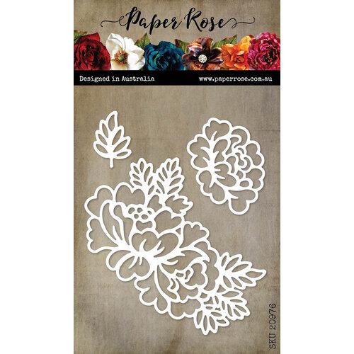 Paper Rose - Dies - Spring Bloom