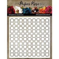 Paper Rose - 6 x6 Stencil - Digital
