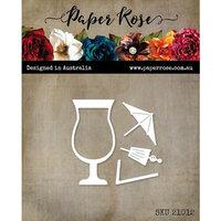 Paper Rose - Dies - Pina Colada Glass