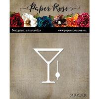 Paper Rose - Dies - Martini Glass