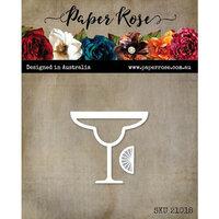 Paper Rose - Dies - Margarita Glass