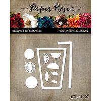 Paper Rose - Dies - Lemonade Glass
