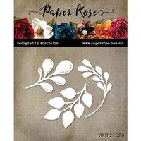 Paper Rose - Dies - Little Foliage 1